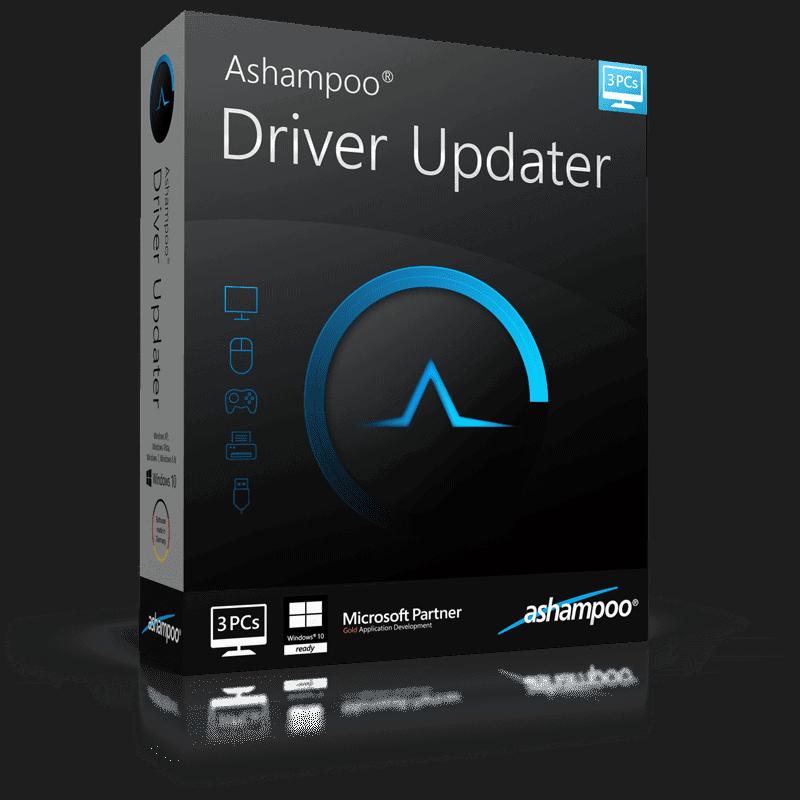 box ashampoo driver updater