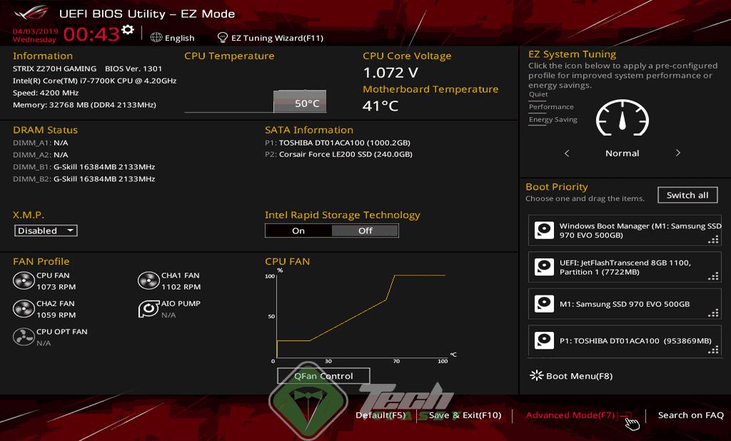 ASUS Motherboard BIOS UEFI