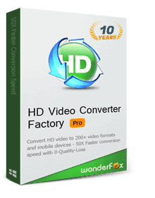 HD Video Converter Factory Pro Box
