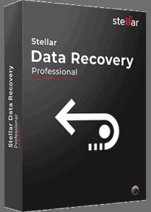 Stellar Data Recovery Professional Box Shoot