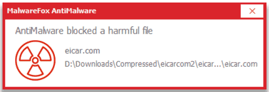 malwarefox blocked threat