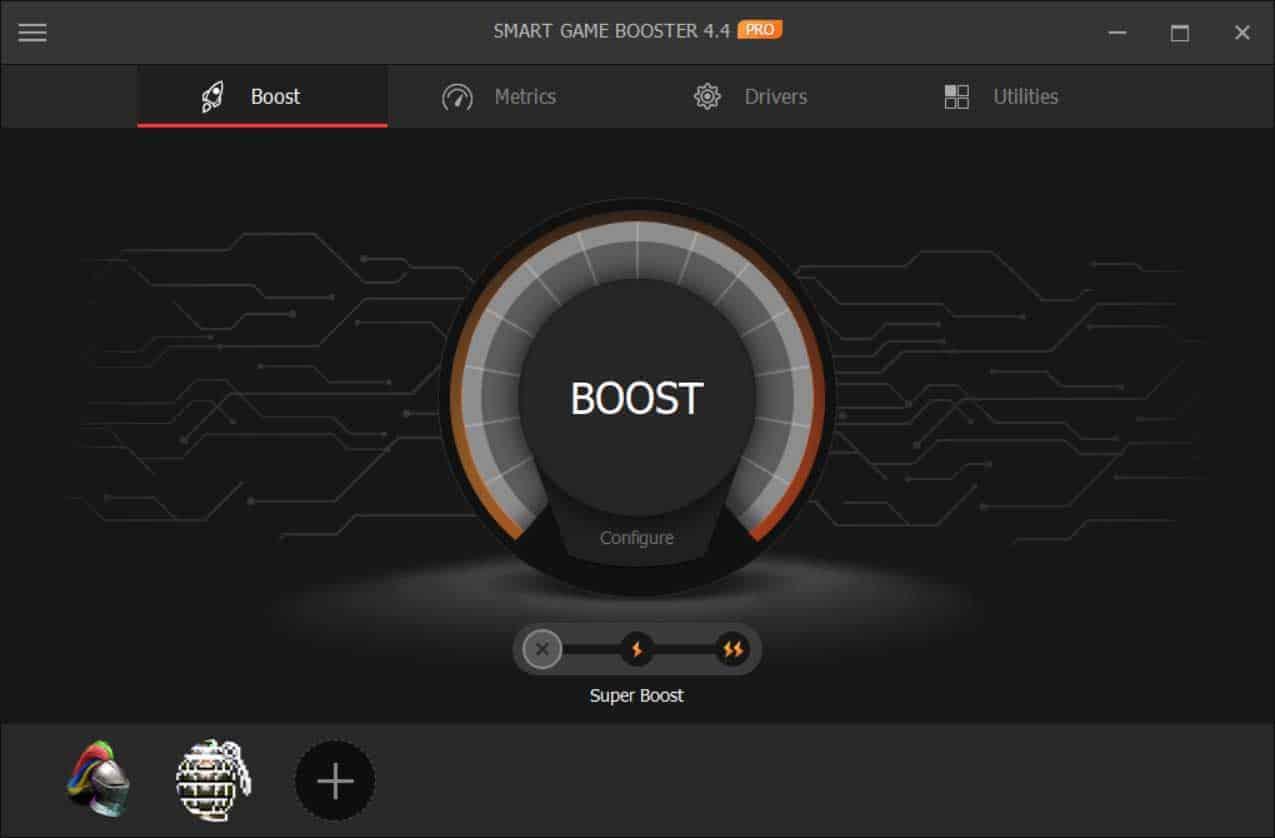 smart game booster screenshot 1