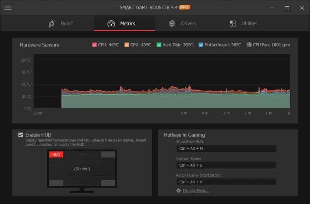 smart game booster screenshot 2