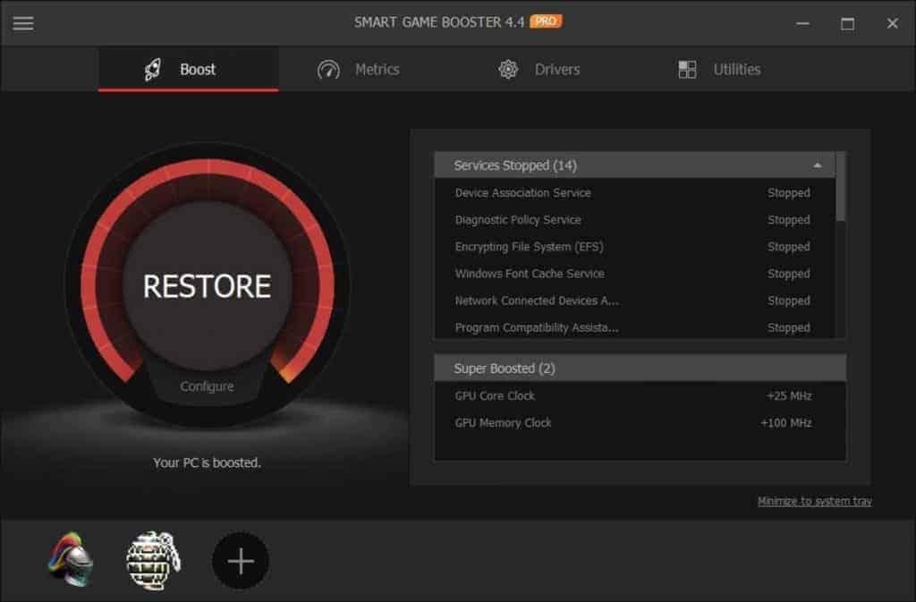 smart game booster screenshot 5