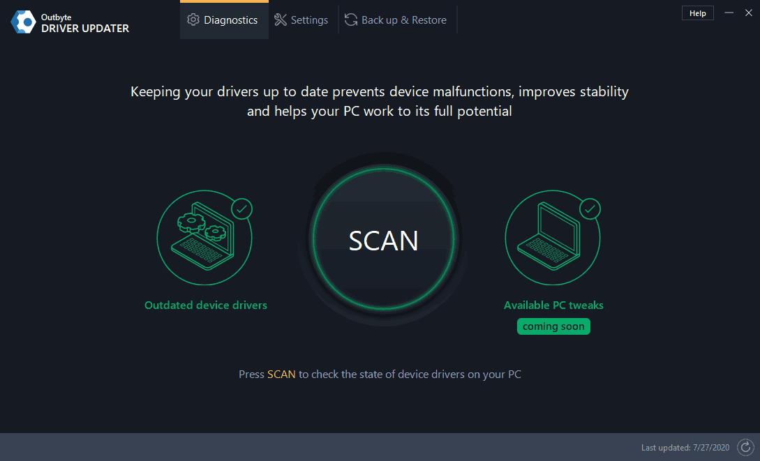 Outbyte Driver Updater Screenshot 1