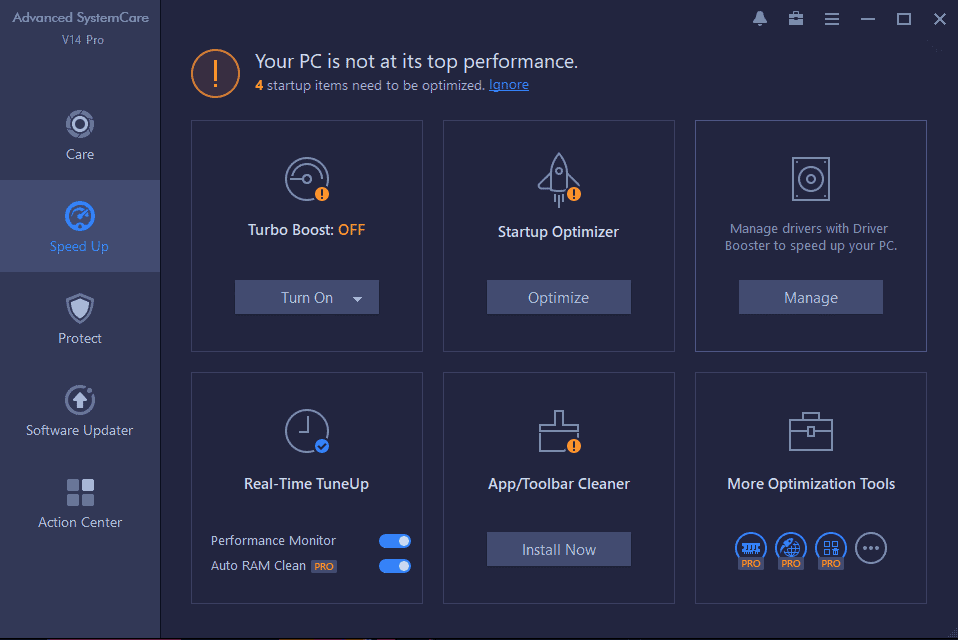 Advanced SystemCare 14 Pro Screenshot 2