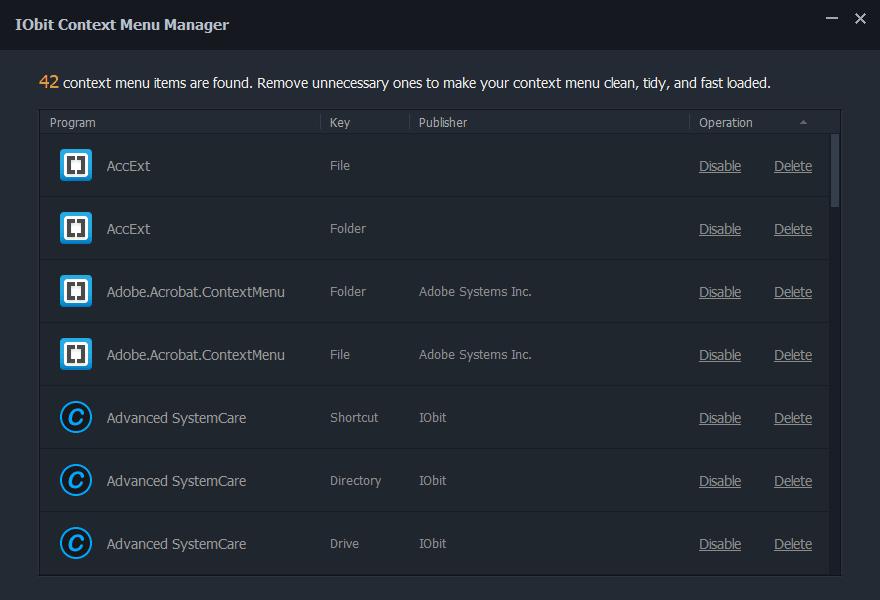 Asc Pro Context Menu Manager