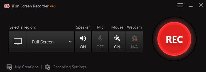 ifun screen recorder screenshot 1