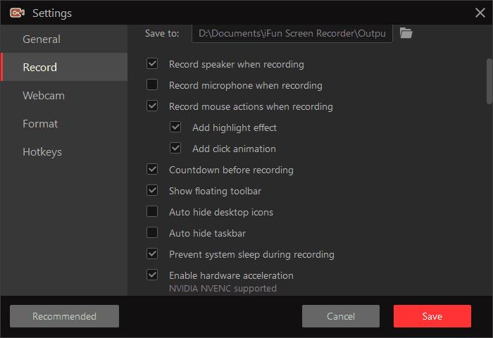 ifun screen recorder screenshot 3