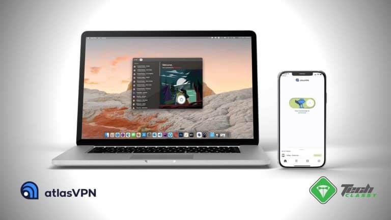 Atlas VPN Review Featured Mac and iPhone
